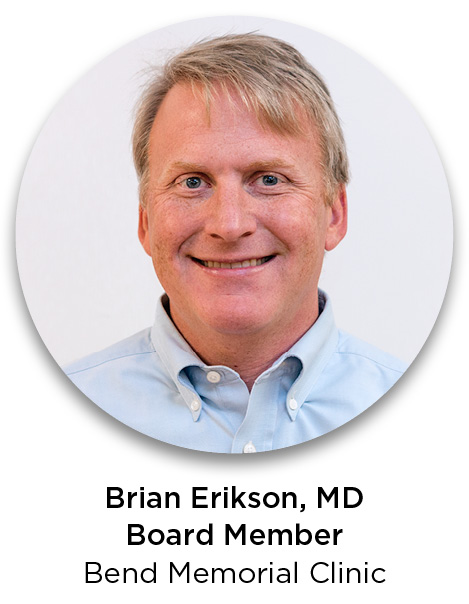 Brian Erikson, MD, Bend Memorial Clinic