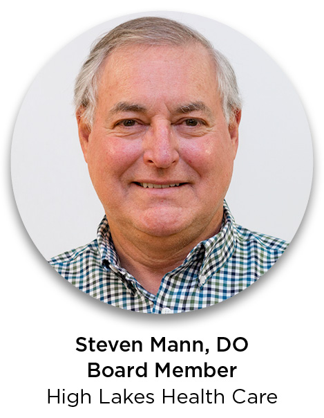 Steven Mann, DO, High Lakes Health Care