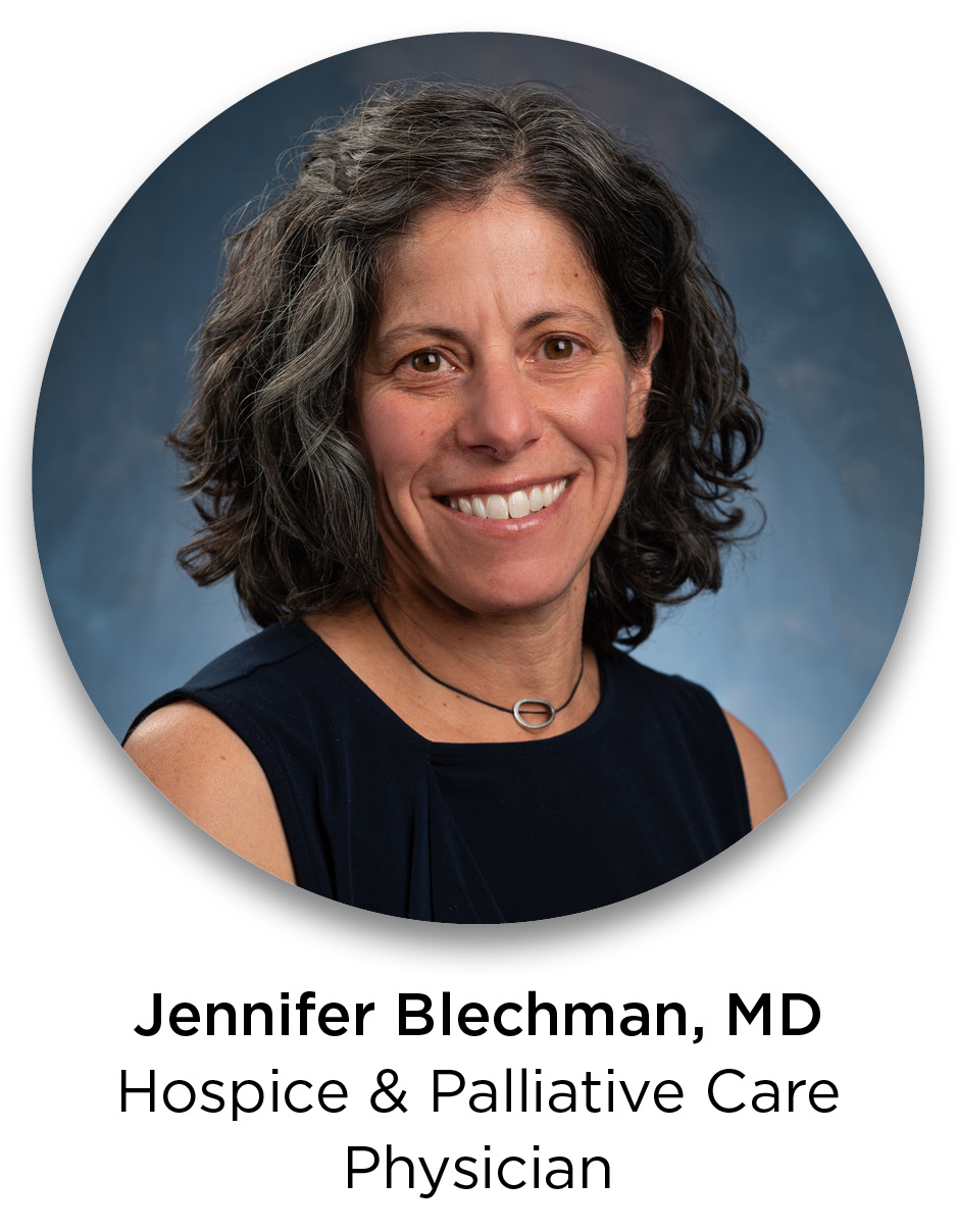 Jenny Blechman, MD—Hospice / Palliative Care Physician
