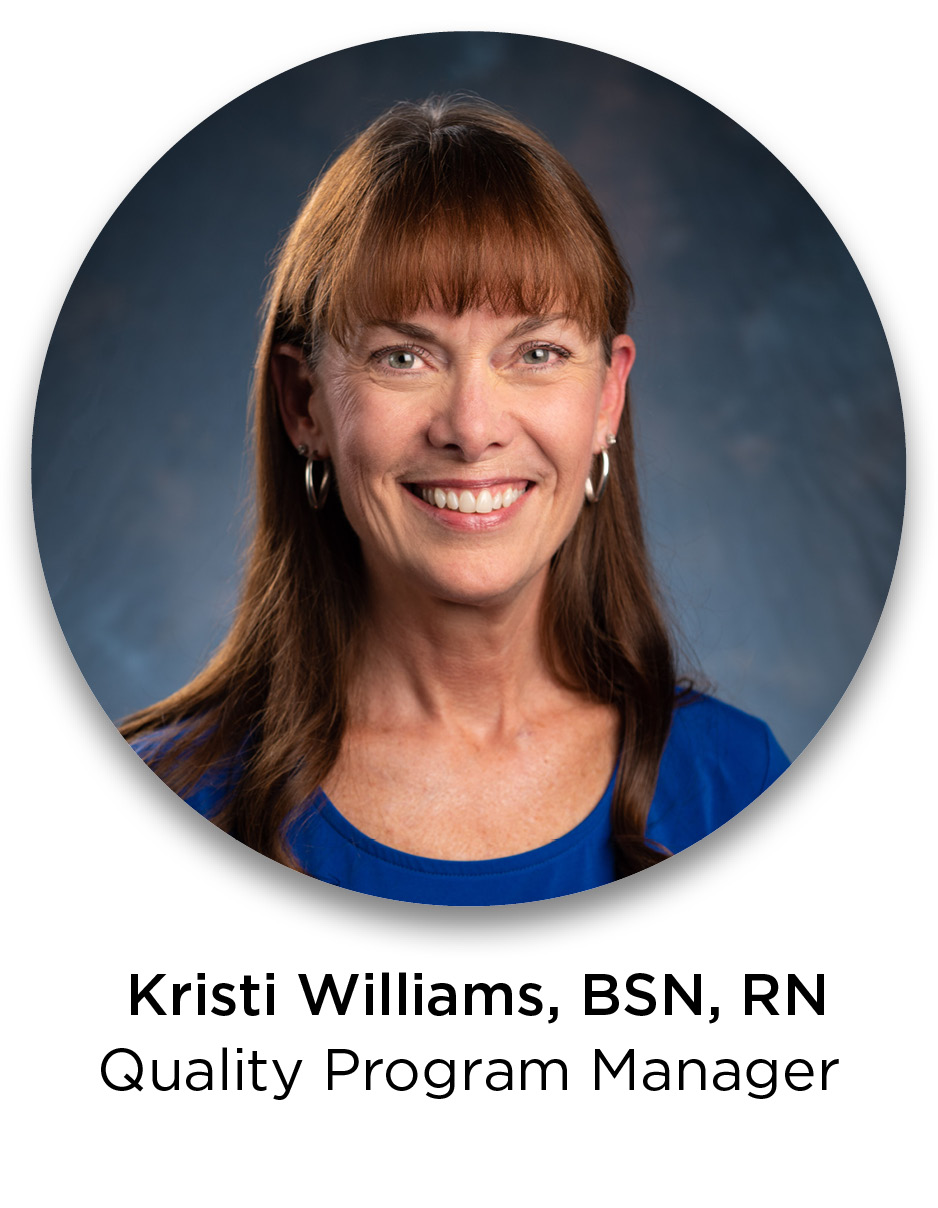 Kristi Williams-Quality Control Manager